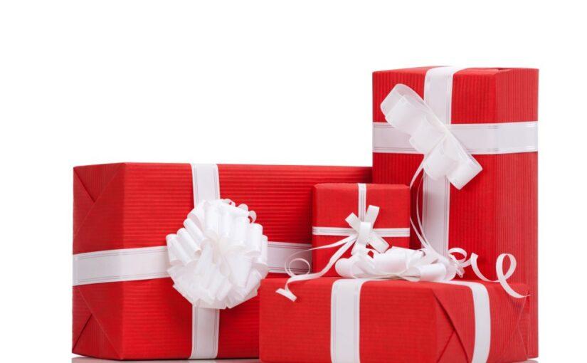 Indpakkede julegaver